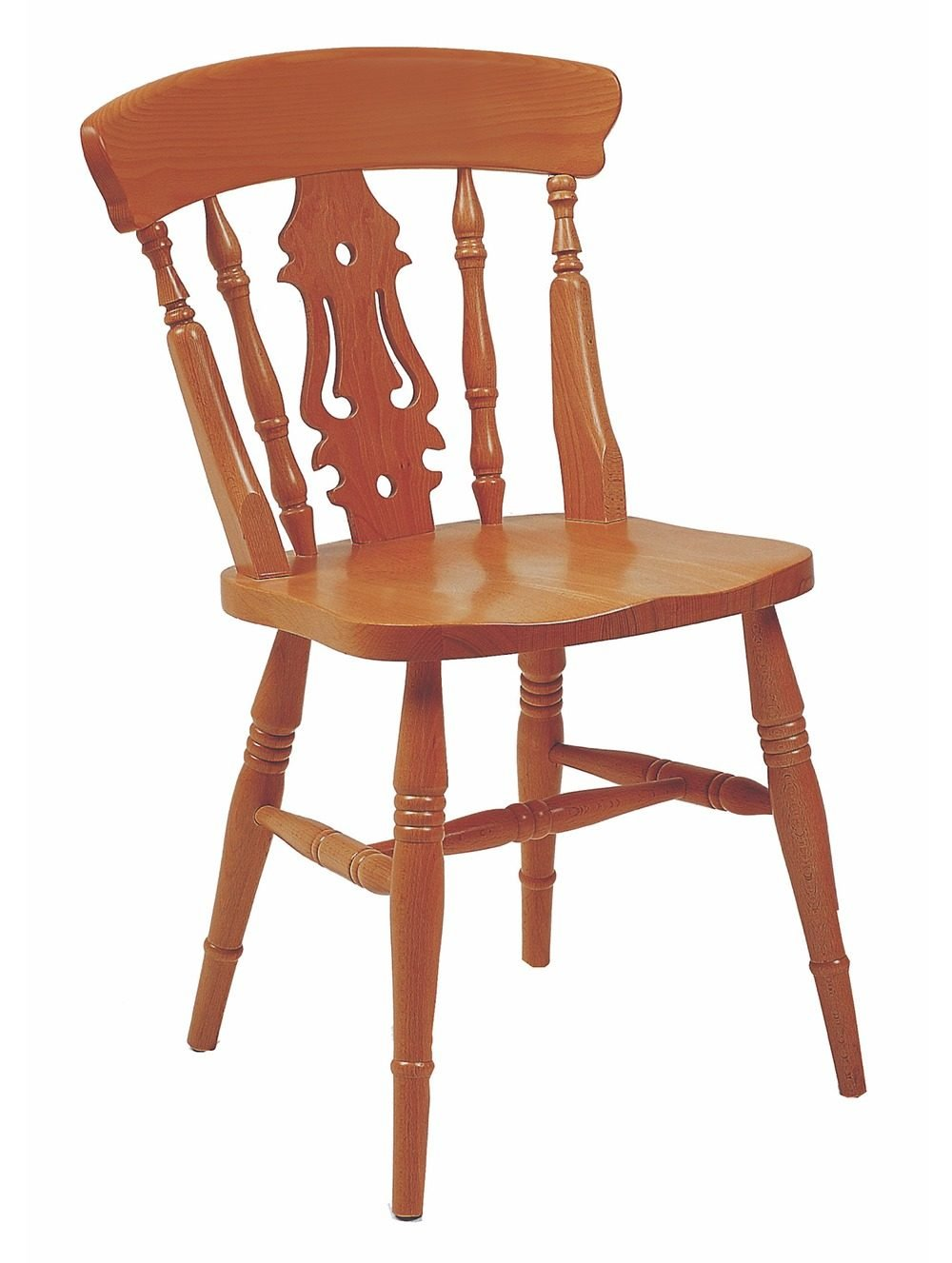 Farmhouse Fiddleback Chair