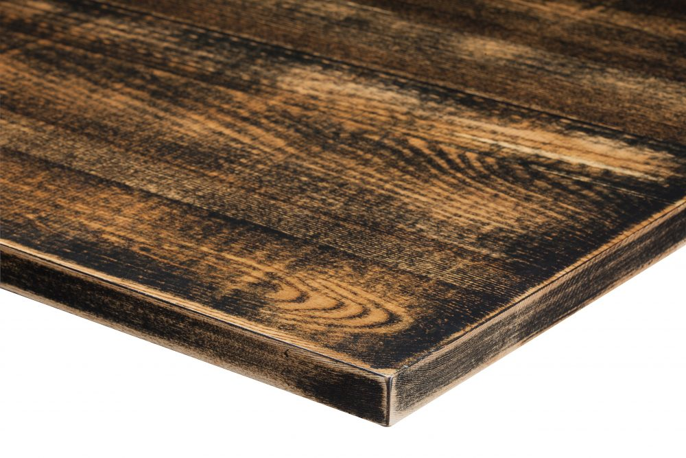 Distressed Light Oak RAL 9005 Jet Black