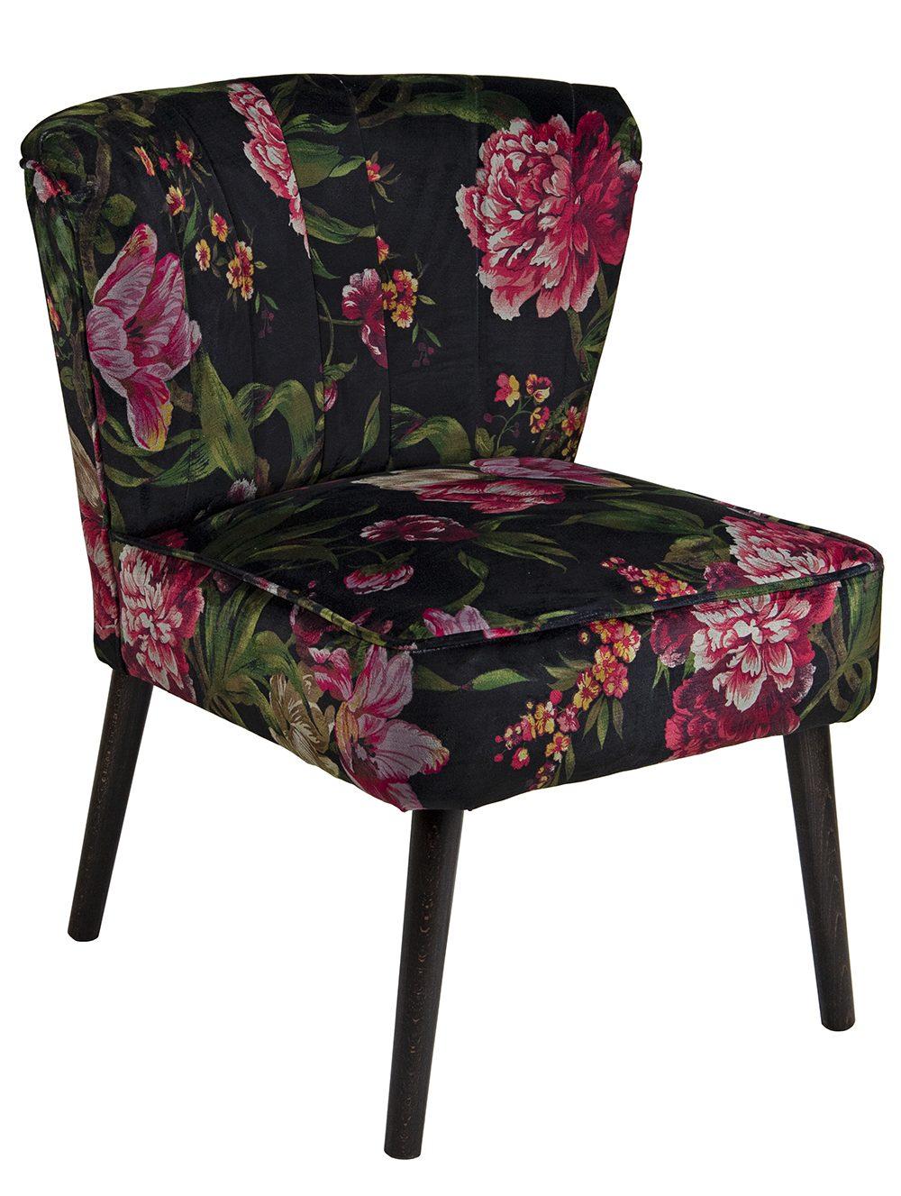 Custom Scallop Lounge Chair