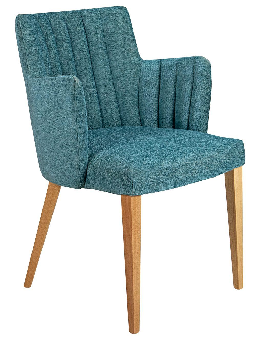 Custom Louvre Arm Chair