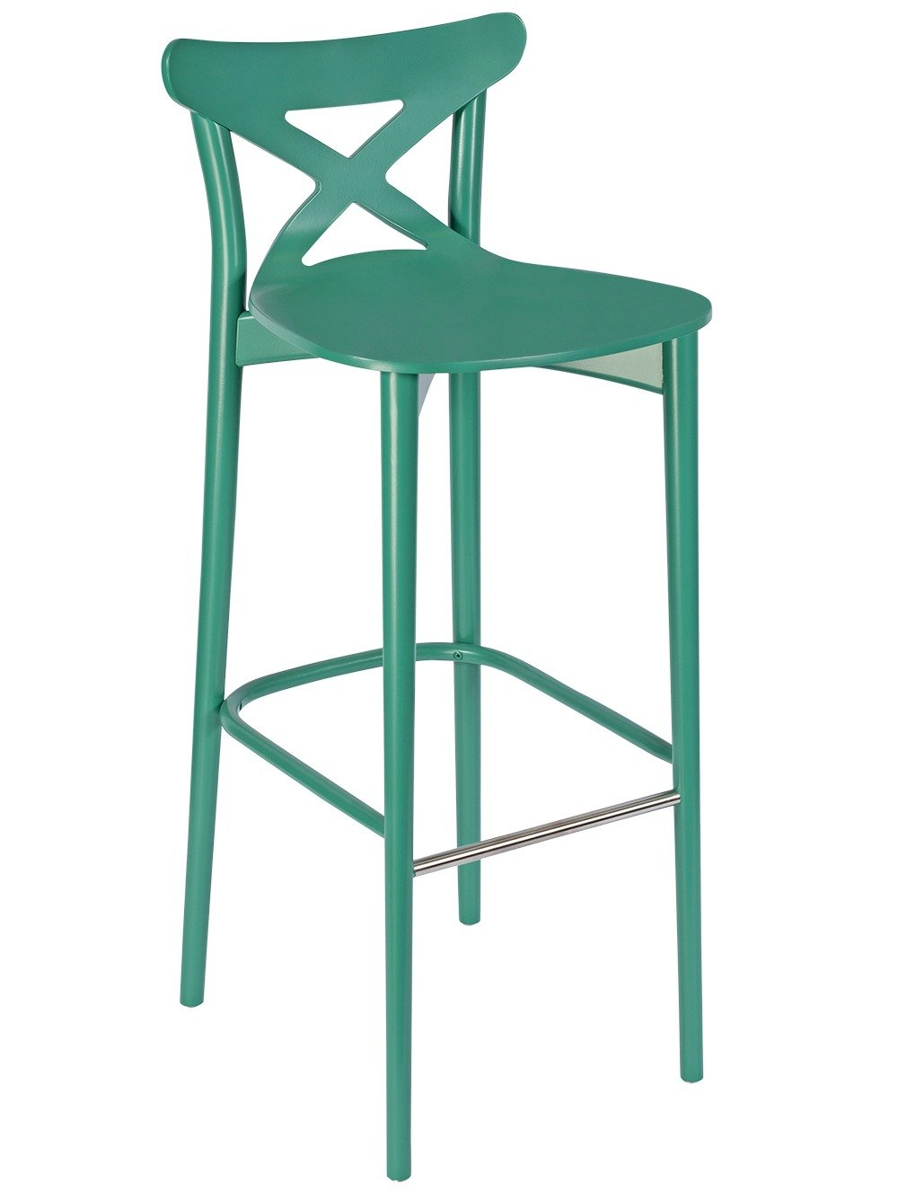 Chiltern Cross Back High Stool | Carlick Contract Furniture
