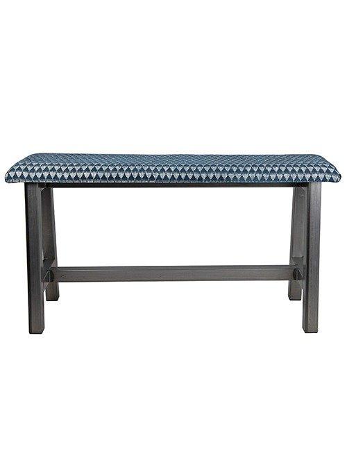 Custom Metal H-Frame Bench