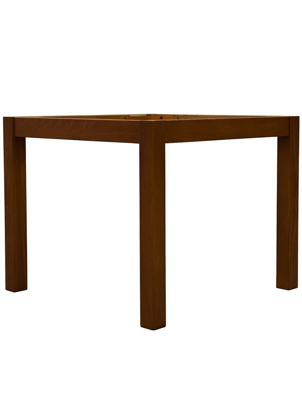 Straight 4 Leg Dining Table from a 45 degree angle